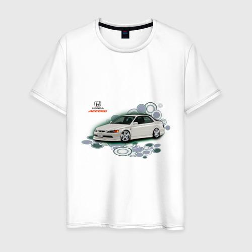 Мужская футболка хлопок Honda ACCORD
