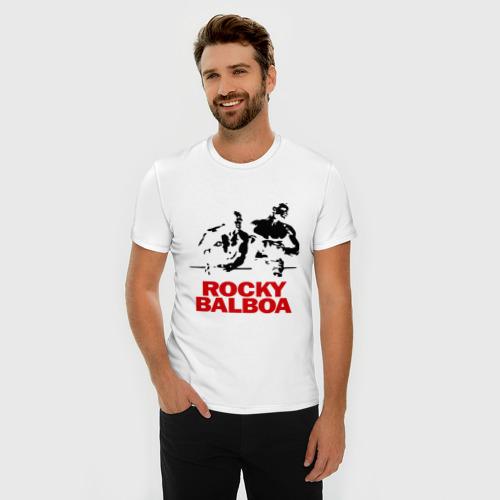 Мужская футболка премиум  Фото 03, Rocky Balboa