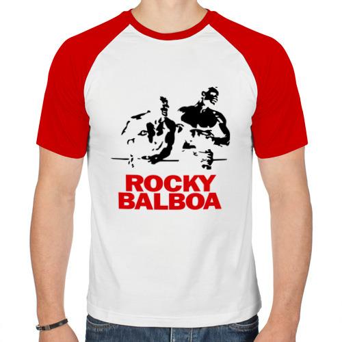 Мужская футболка реглан  Фото 01, Rocky Balboa