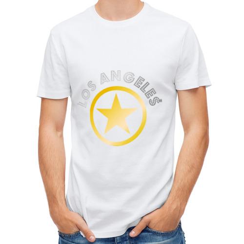 Мужская футболка полусинтетическая  Фото 01, Los Angeles