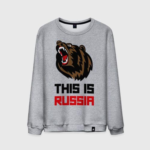 Мужской свитшот хлопок  Фото 01, This is Russia