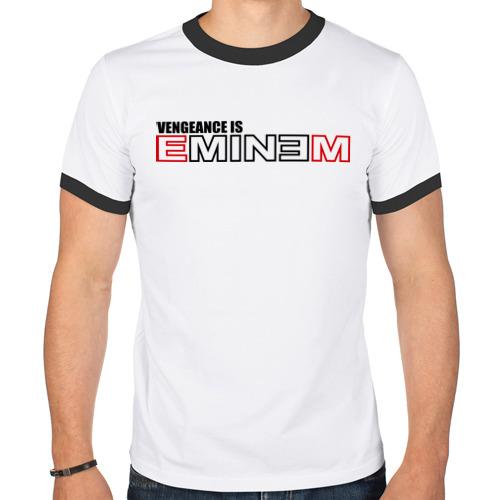 Мужская футболка рингер  Фото 01, vengeance is Eminem