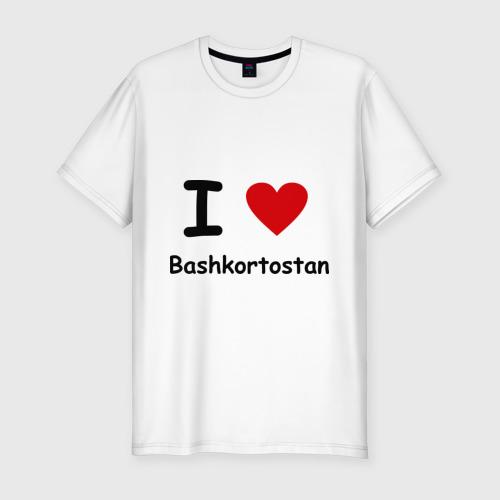 Мужская футболка премиум  Фото 01, I love Bashkortostan