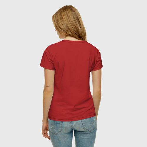 Женская футболка хлопок золотые купола Фото 01