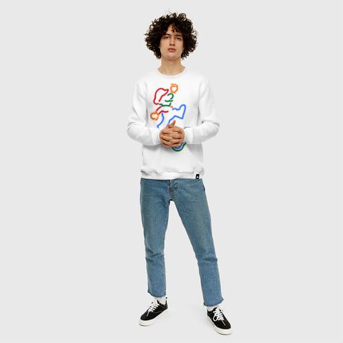 Мужской свитшот хлопок Марио с пультом Фото 01