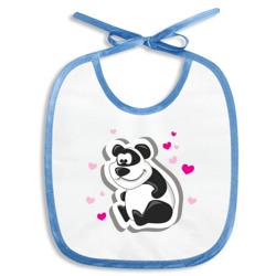 сердца и панда