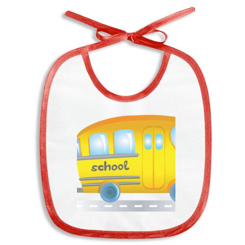 Слюнявчик автобус