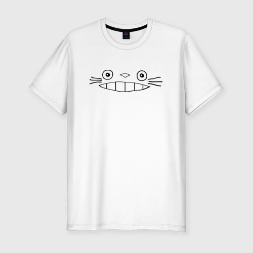 Мужская футболка премиум  Фото 01, totoro face