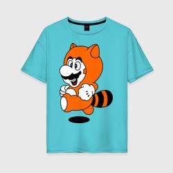 Mario In Tanooki Suit