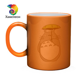 totoro с зонтом