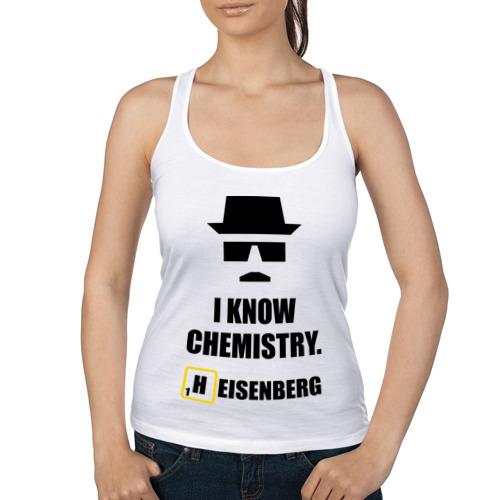Женская майка борцовка  Фото 01, I now Chemistry