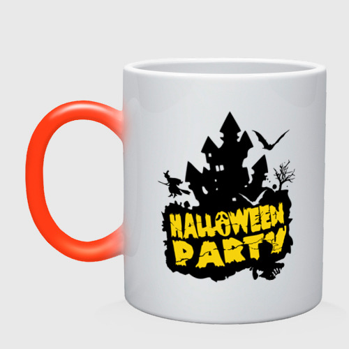 Кружка хамелеон  Фото 01, Halloween party-замок