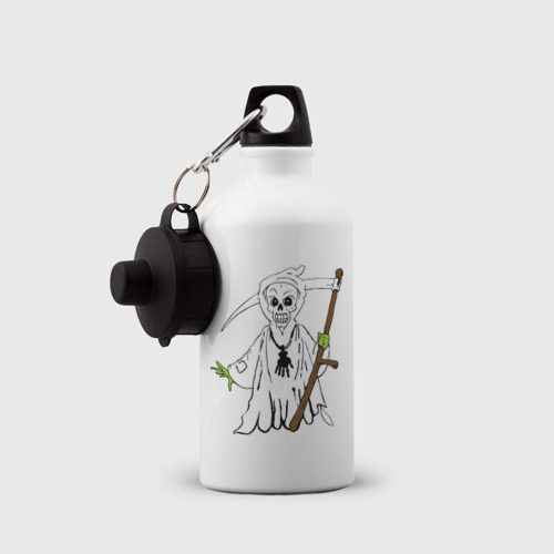 Бутылка спортивная  Фото 03, Смерть с  амулетом