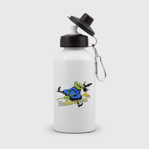 Бутылка спортивная  Фото 01, Бабка на метле