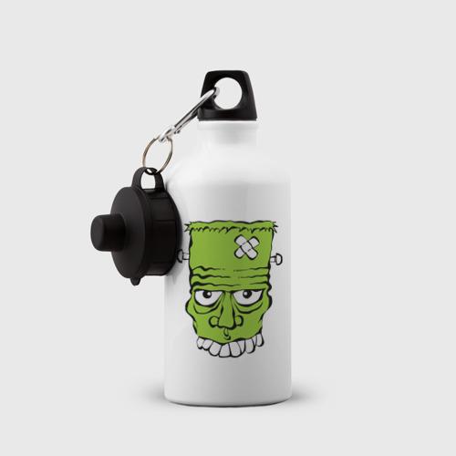 Бутылка спортивная  Фото 03, зеленый франкенштейн