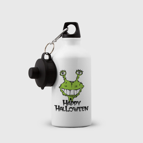 Бутылка спортивная  Фото 03, Happy Halloween -монстрик