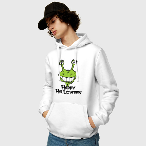 Мужская толстовка хлопок  Фото 03, Happy Halloween -монстрик