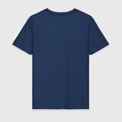 Мужская футболка хлопок Ёжик держит яблоко Фото 01