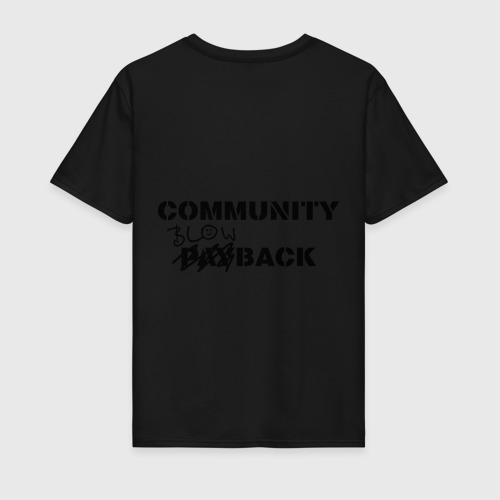 Мужская футболка хлопок  Фото 02, Community blowback