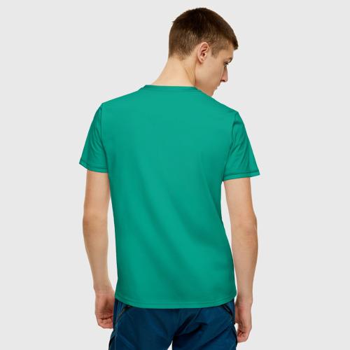 Мужская футболка хлопок Apple яблоко Фото 01