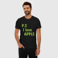 P.S I love apple