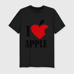 i love apple с листиком