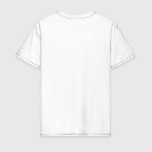 Мужская футболка хлопок Яблочко с червячком Фото 01