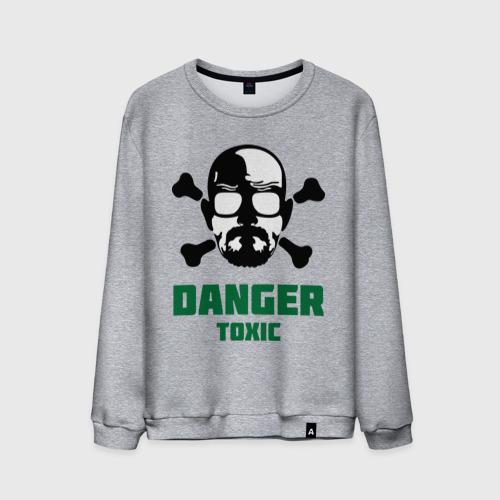 Мужской свитшот хлопок  Фото 01, Danger Toxic