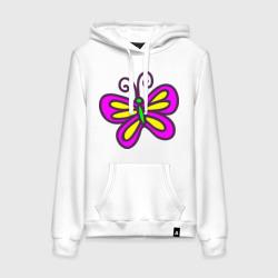 Яркая бабочка