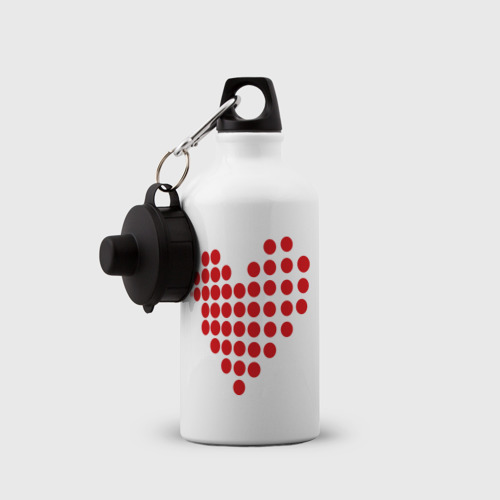Бутылка спортивная  Фото 03, Сердце шарики