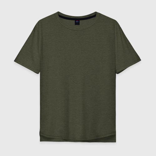 Мужская футболка хлопок Oversize FBI - пара Фото 01