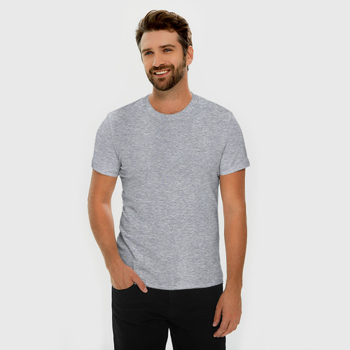 Мужская футболка хлопок Slim FBI - пара Фото 01
