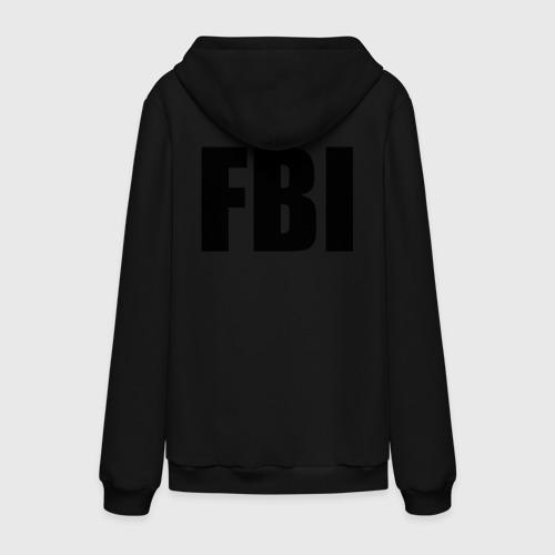 Мужская толстовка хлопок FBI - пара