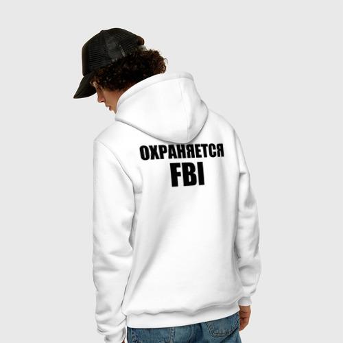 Мужская толстовка хлопок Охраняется FBI Фото 01