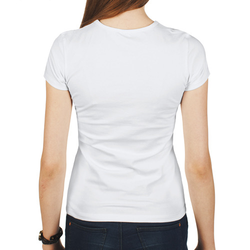Женская футболка полусинтетическая  Фото 02, Блондинки любят шахматы
