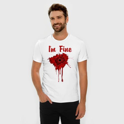 Мужская футболка премиум  Фото 03, В порядке я