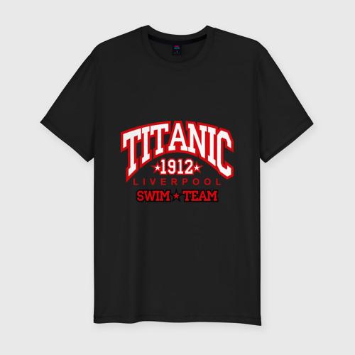 Мужская футболка премиум  Фото 01, TITANIC swim team
