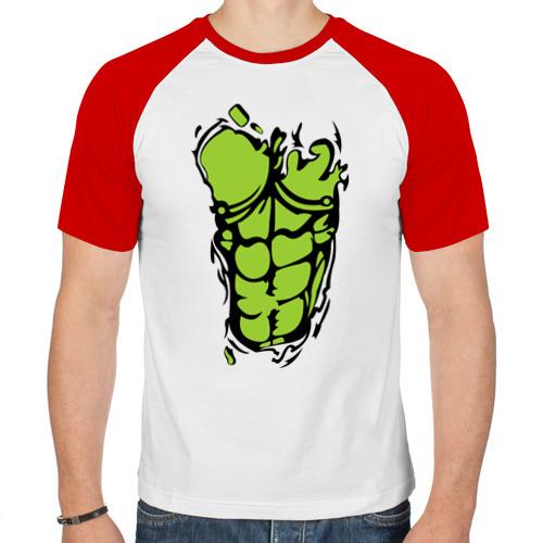 Мужская футболка реглан  Фото 01, Идеальное тело