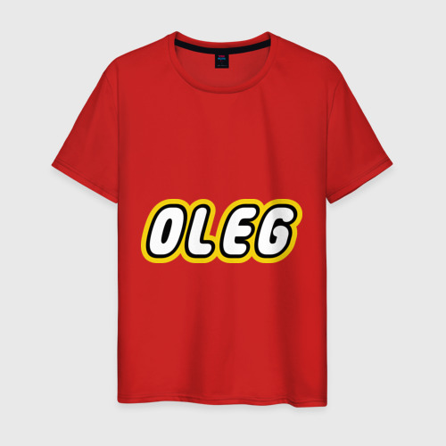 Мужская футболка хлопок Oleg Фото 01