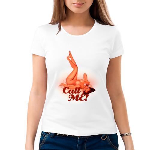 Женская футболка Call me от Всемайки