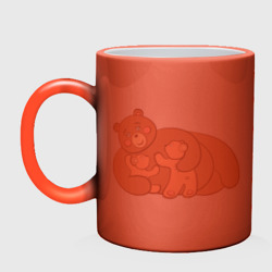Мама медведица двойняшки