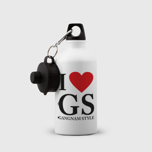 Бутылка спортивная  Фото 03, I love GS
