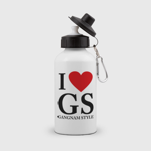 Бутылка спортивная  Фото 01, I love GS