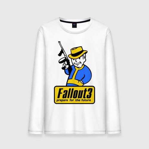 """Мужская футболка с длинным рукавом """"Fallout Man"""" - 1"""