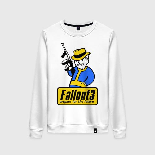 Женский свитшот хлопок Fallout Man Фото 01
