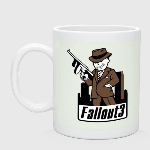 Fallout Man with gun