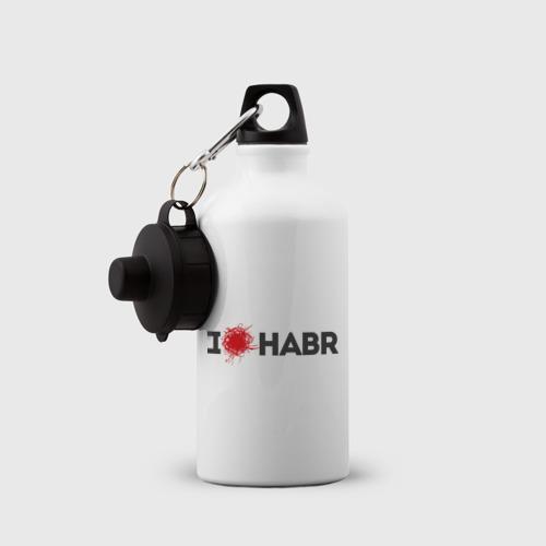 Бутылка спортивная  Фото 03, I love HABR