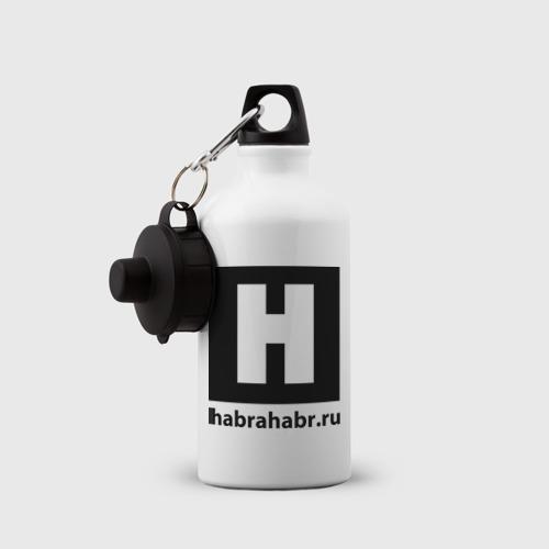 Бутылка спортивная  Фото 03, Habrlogo