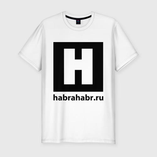 Мужская футболка премиум  Фото 01, Habrlogo