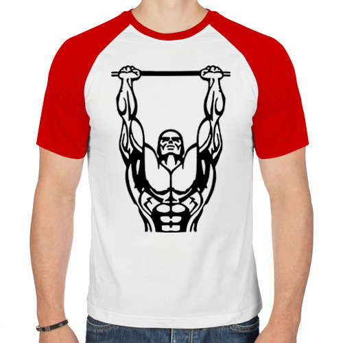 Мужская футболка реглан  Фото 01, Street Workout K-ntxt
